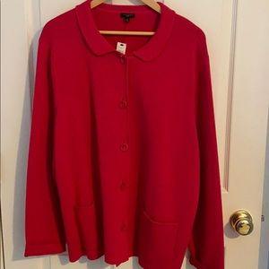 NWT Talbots Pink Sweater